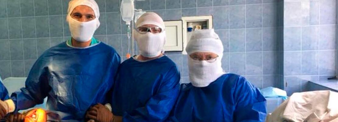 Клинику посетил ведущий ортопед Австрии